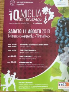 La 10 Miglia del Teroldego (Mezzolombardo) @ Piazza Erbe | Mezzolombardo | Trentino-Alto Adige | Italia